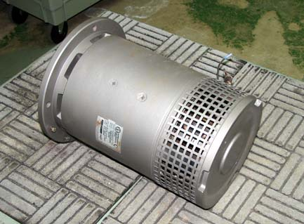 After Thruster Motor Remanufactured